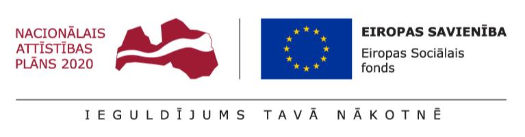 ESF projekta logo